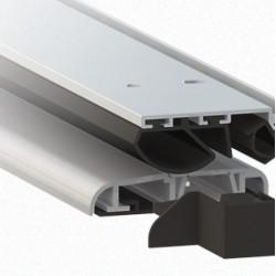 Soglia In Alluminio Anodizzato Argento 1375 Comaglio Serie Universal ...