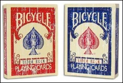 Bicycle FADED RIDER BACK dorso rosso o blu