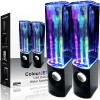 Casse amplificate con fontane luminose Dancing water speakers