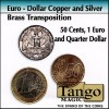 Euro Dollar copper and silver brass transposition TANGO