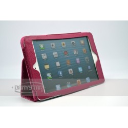Custodia Cover in Ecopelle Fucsia per iPad Mini Accessori per Tablet Danystar