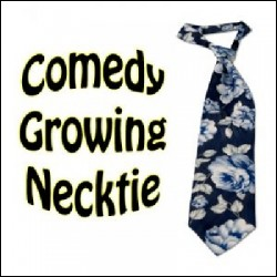 Comedy Growing Necktie BLUE