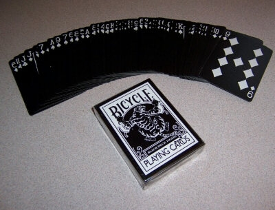 BLACK DECK TIGERS BICYCLE