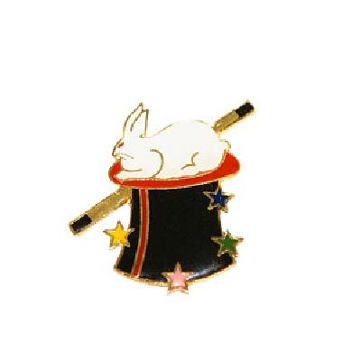 Spilla da mago coniglio