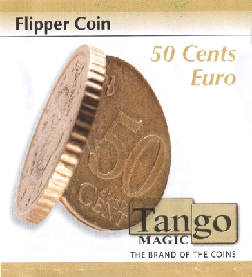 Flipper coin 50 cents Euro Tango Magic