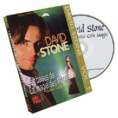 David Stone Vol1 DVD Basic Coin Magic