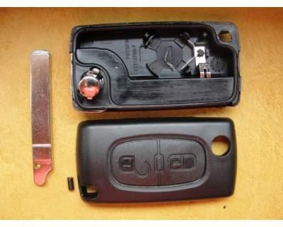 Offerte pazze Comparatore prezzi  Guscio cover chiave per telecomando CITROEN 2 tasti con clip batteria  il miglior prezzo