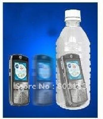 Telefono nella bottiglia