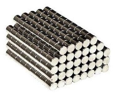 Magnete al Neodimio Cilindro mm 10 x 10