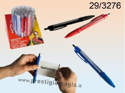 Penna con scomparto segreto