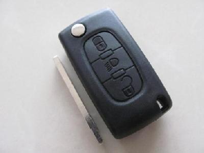 Guscio cover chiave per telecomando CITROEN PEUGEOT 3 pulsanti con cli