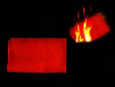 Carta lampo rossa 25x20cm