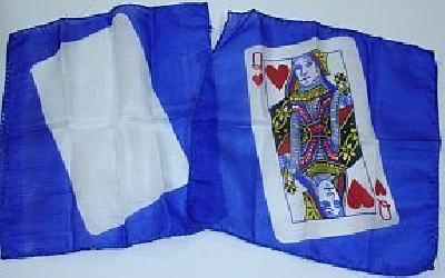 Card silk con FP regina di cuori