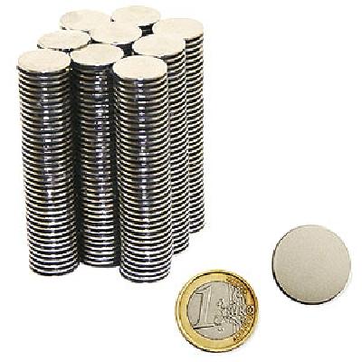 Magnete al Neodimio DISCHETTO mm 20x1