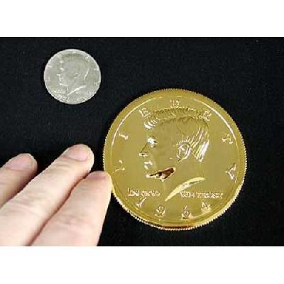 Mezzo dollaro gigante oro