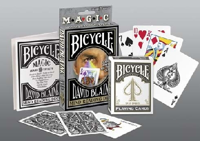 Bicycle David Blaine Mind Reading Mazzo segnato