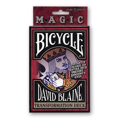 Bicycle David Blaine Transformation Deck Svengali