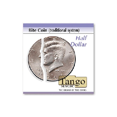 Bite coin traditional system Include extra piece Half Dollar