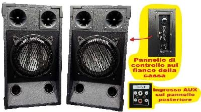 Offerte pazze Comparatore prezzi  Coppia casse amplificate 500Watt LY81  il miglior prezzo