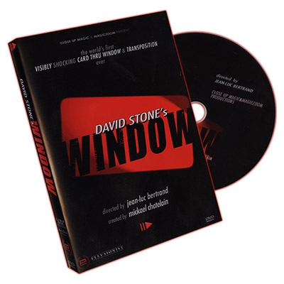 Window by David Stone DVD e gimmick