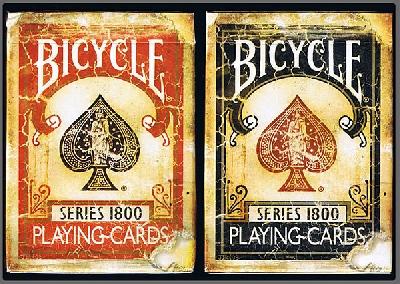 Serie 1800 Bicycle dorso rosso o blu