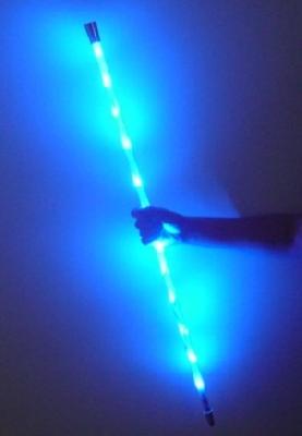 Bastone danzante luminoso BLU