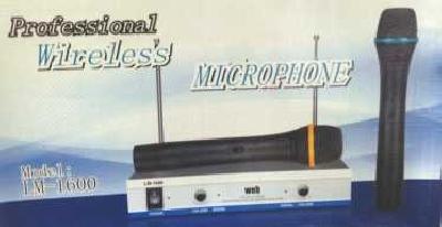 Coppia radiomicrofono a gelato