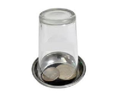 Piattino per apparizione monete