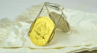 Servente per monete giganti
