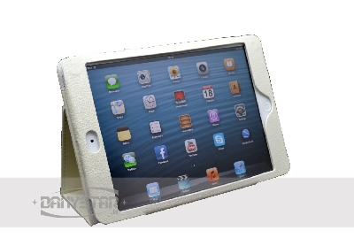 Custodia Cover in Ecopelle Bianca per iPad Mini Accessori per Tablet D