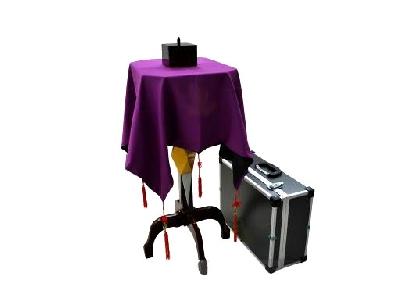 Tavolino levitante professionale delux con valigia