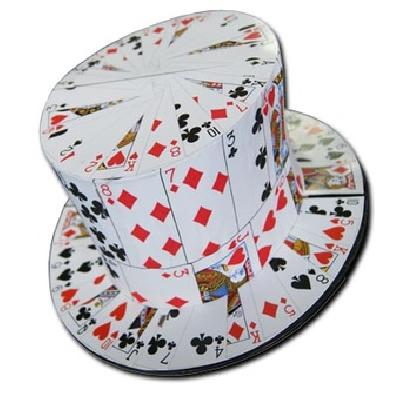 Offerte pazze Comparatore prezzi  Cilindro da mago con carte Gibus  il miglior prezzo