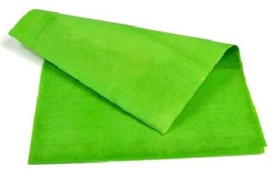 Carta lampo verde 25x20cm