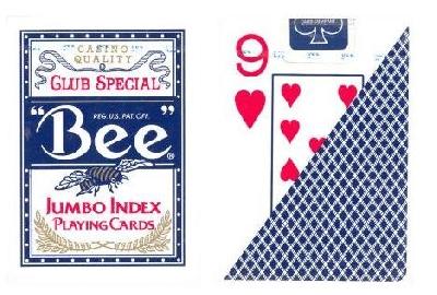 Bee Formato poker indice jumbo