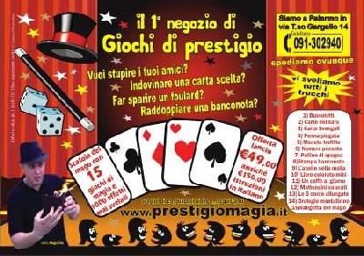 Kit 11 pezzi Peter Loriano giochi di magia