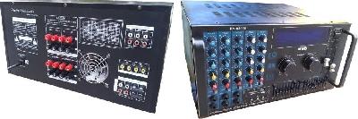 Amplificatore 400Watt Max con mixer 6 canali per Karaoke KA8888