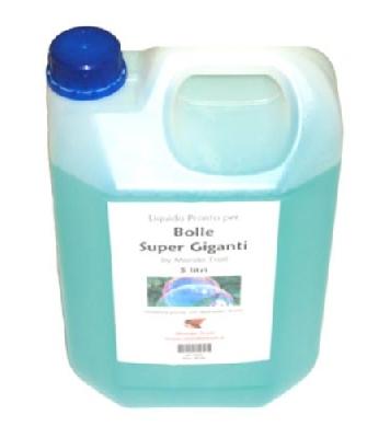 Liquido Pro 5 Litri Bolle Sapone Super Giganti