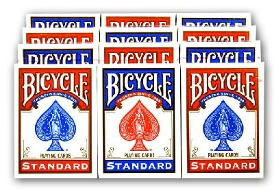 Offerte pazze Comparatore prezzi  Bicycle standard Formato poker nuovo modello 12 mazzi  il miglior prezzo
