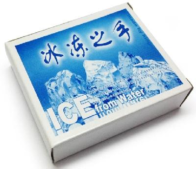 Da acqua a ghiaccio