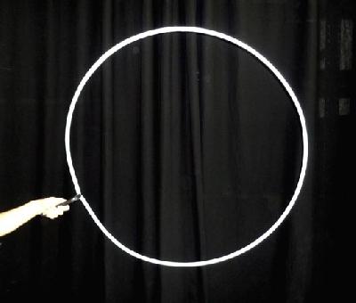 Anello Bolle Giganti 85 cm per Bastone Smontabile