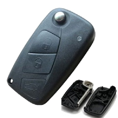 Guscio cover chiave per telecomando FIAT 3 tasti lama laser senza logo