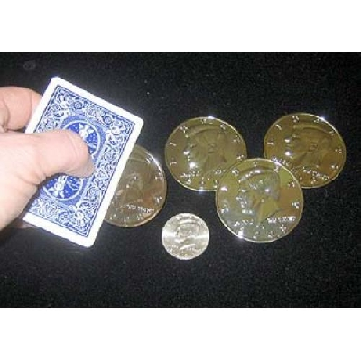 Mezzo dollaro gigante silver
