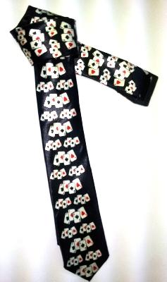Cravatta da mago nera