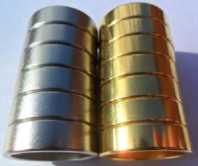 Anello magnetico colore silver oro