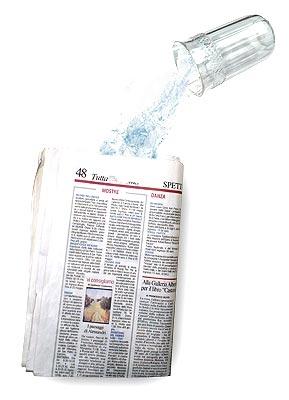 Offerte pazze Comparatore prezzi  Acqua nel giornale  il miglior prezzo