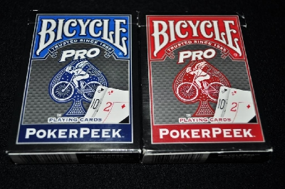 Poker Peek Bicycle PRO