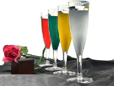 Bicchiere cambia colore Chamaleon Champagne