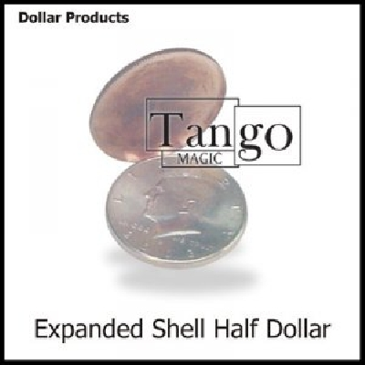 Moneta espansa mezzo dollaro Head by Tango DVD incluso