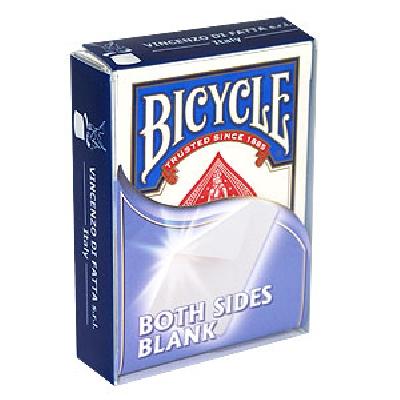 Bicycle Bianco entrambi i lati
