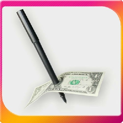 Penna penetra banconote plastica